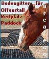 Paddockplatten für Paddock, RoundPen, Reitplatzbefestigung